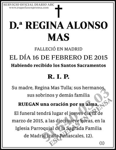 Regina Alonso Mas